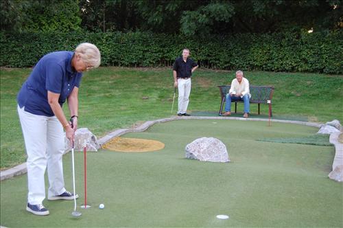 Spiel!Golf in der Sehusa Wasserwelt