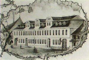 Foto Erstes Schulgebäude